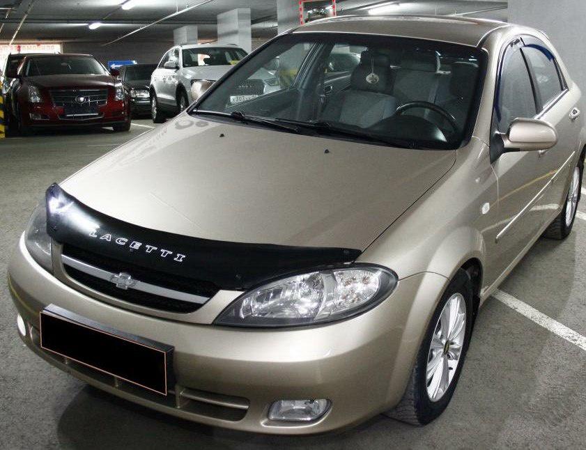 Подержанный Chevrolet Lacetti, хорошее состояние, бежевый перламутр, 2008 года выпуска, цена 250 000 руб. в ао. Ханты-Мансийском Автономном округе - Югре