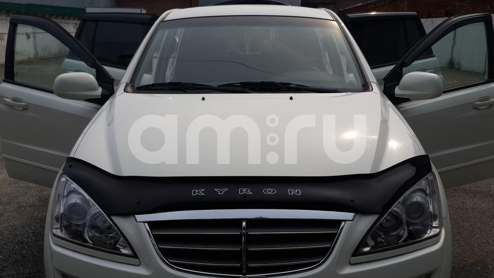 Подержанный SsangYong Kyron, хорошее состояние, белый металлик, 2013 года выпуска, цена 800 000 руб. в ао. Ханты-Мансийском Автономном округе - Югре