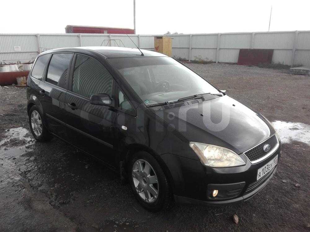 Подержанный Ford C-Max, отличное состояние, черный , 2007 года выпуска, цена 365 000 руб. в Челябинской области