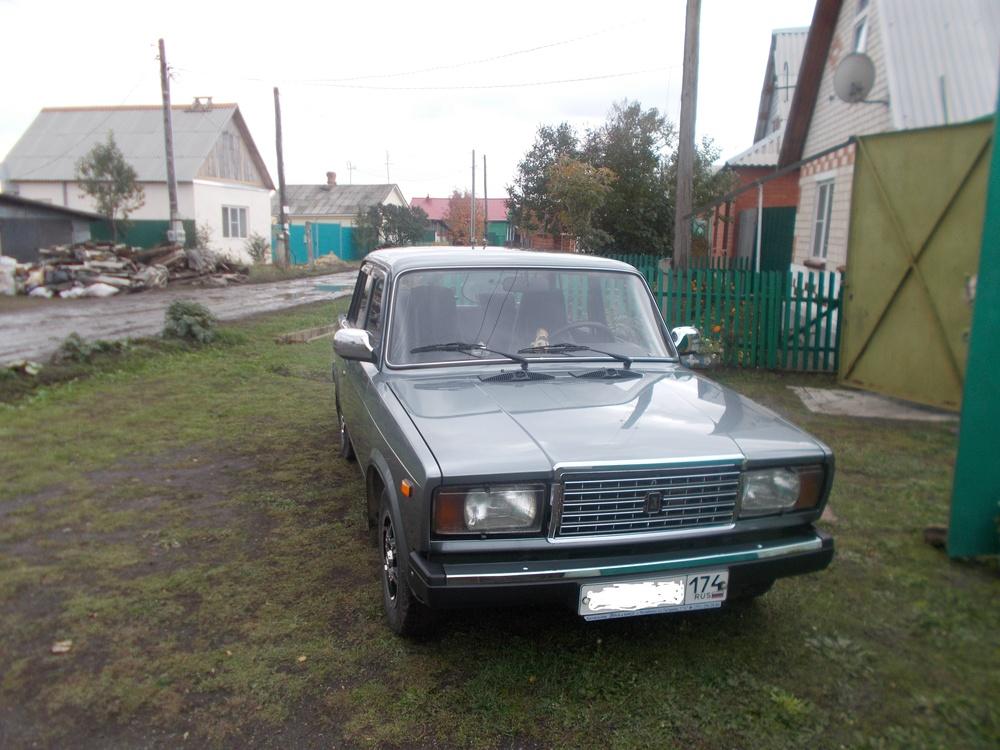 Подержанный ВАЗ (Lada) 2107, отличное состояние, серебряный металлик, 2010 года выпуска, цена 120 000 руб. в Челябинской области