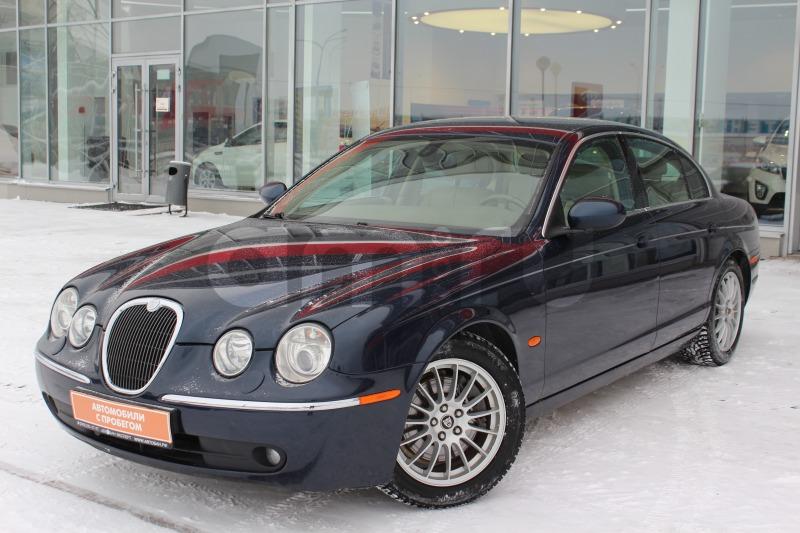 Jaguar S-Type с пробегом, синий , отличное состояние, 2006 года выпуска, цена 470 000 руб. в автосалоне Автобан-Запад (Екатеринбург, ул. Металлургов, д. 67)
