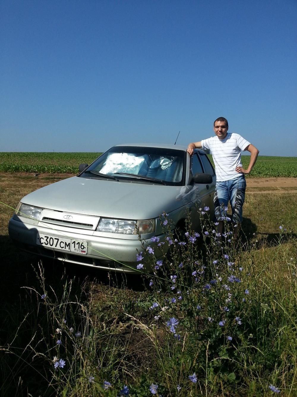 Подержанный ВАЗ (Lada) 2110, среднее состояние, серебряный , 2004 года выпуска, цена 100 000 руб. в республике Татарстане