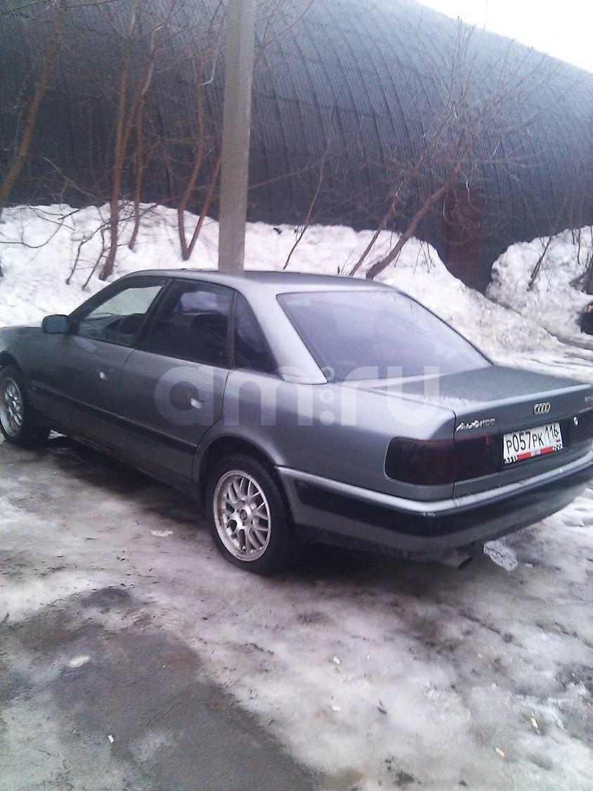 Подержанный Audi 100, хорошее состояние, серый , 1992 года выпуска, цена 105 000 руб. в республике Татарстане