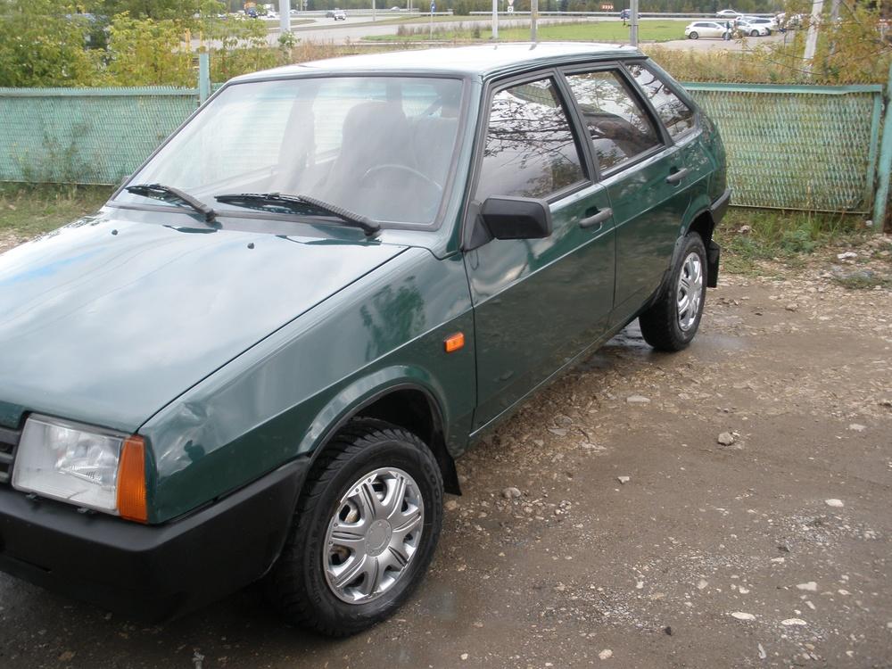 Подержанный ВАЗ (Lada) 2109, хорошее состояние, зеленый , 1999 года выпуска, цена 55 000 руб. в республике Татарстане