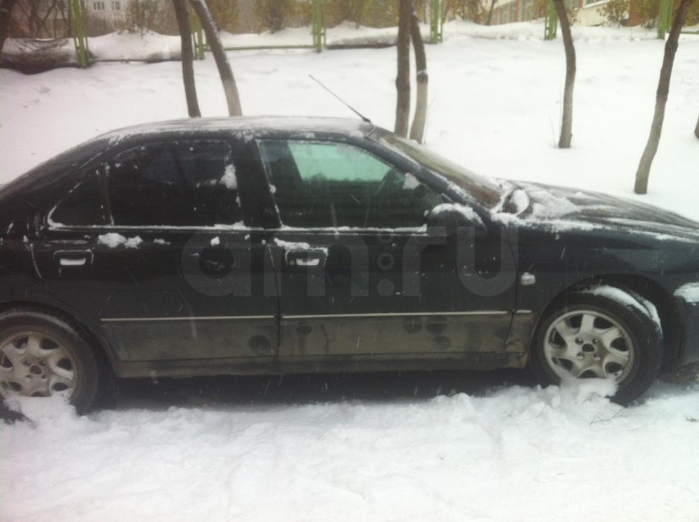 Подержанный Peugeot 406, хорошее состояние, черный , 2003 года выпуска, цена 145 000 руб. в республике Татарстане