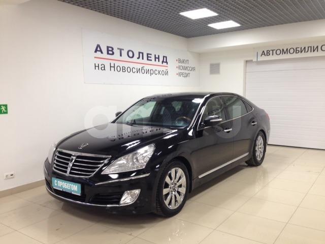 Hyundai Equus с пробегом, черный , отличное состояние, 2011 года выпуска, цена 850 000 руб. в автосалоне  ()