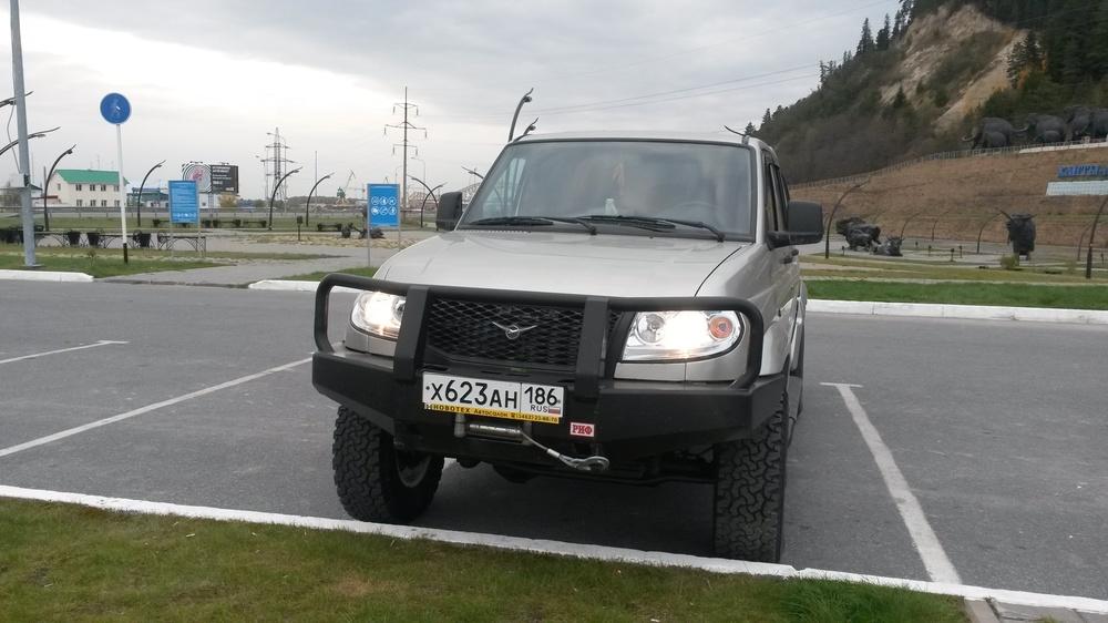 Подержанный УАЗ Pickup, отличное состояние, серебряный металлик, 2012 года выпуска, цена 950 000 руб. в ао. Ханты-Мансийском Автономном округе - Югре