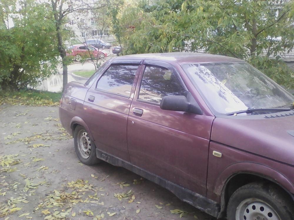 Подержанный ВАЗ (Lada) 2110, среднее состояние, красный , 1998 года выпуска, цена 35 000 руб. в Смоленской области
