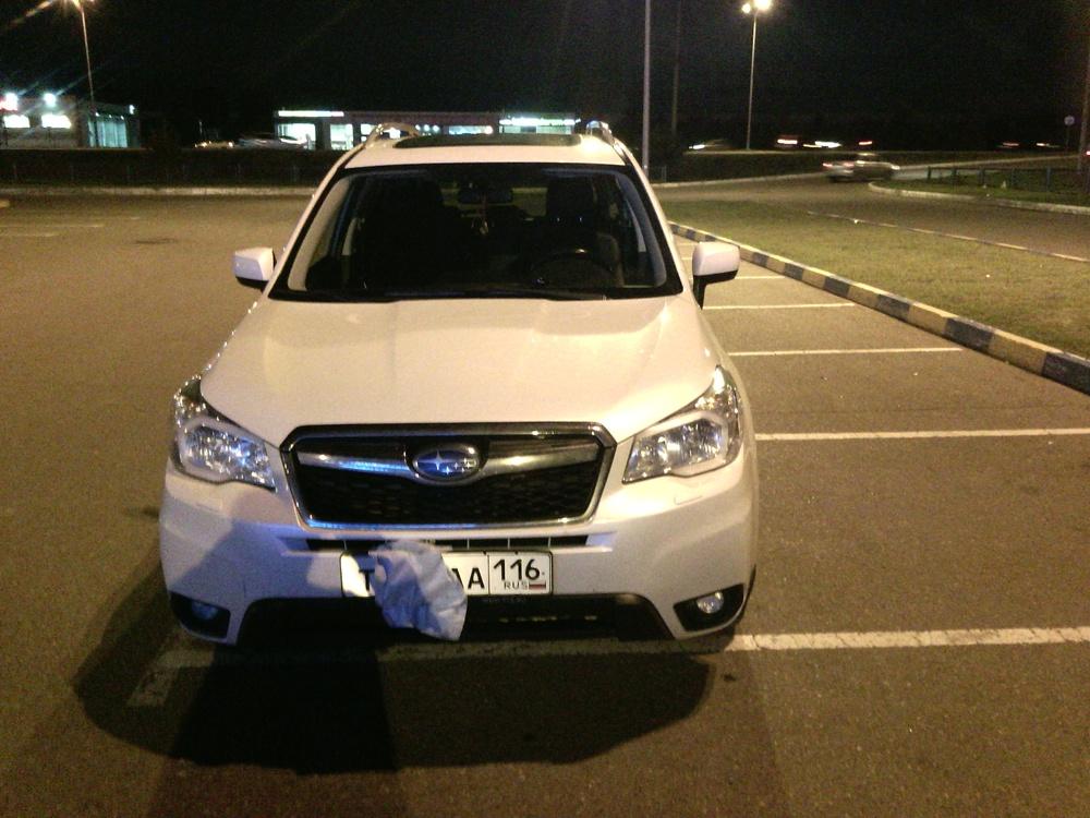 Подержанный Subaru Forester, хорошее состояние, белый перламутр, 2013 года выпуска, цена 1 290 000 руб. в республике Татарстане