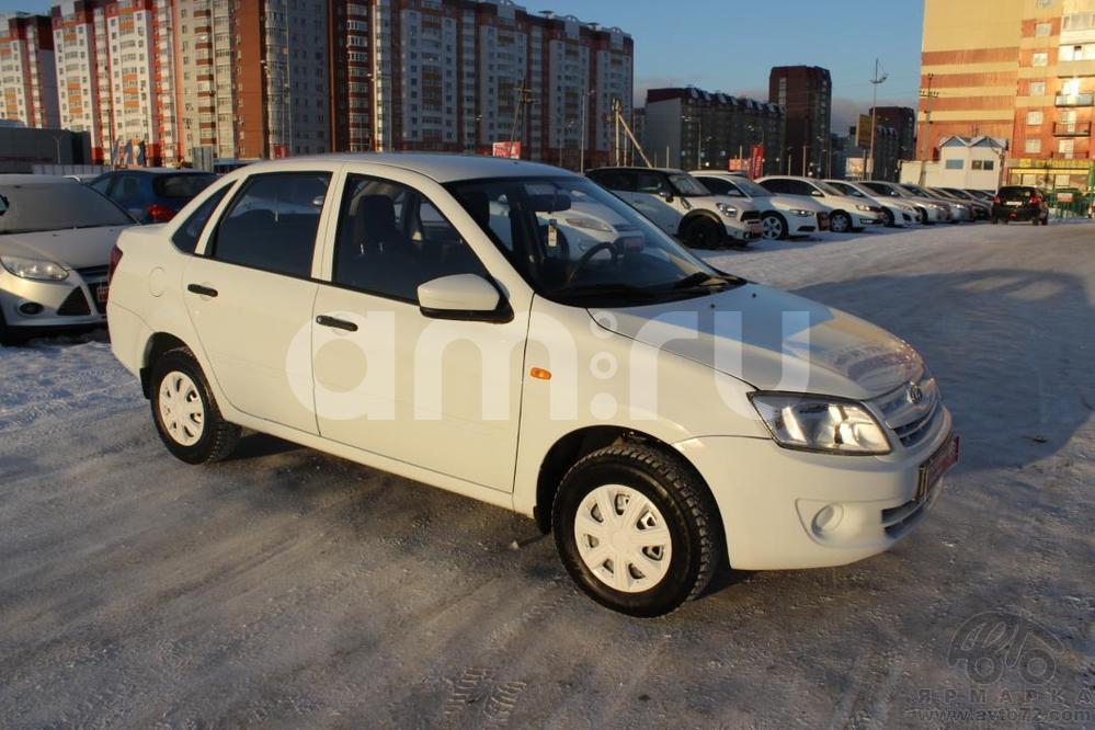 ВАЗ (Lada) Granta с пробегом, белый , отличное состояние, 2015 года выпуска, цена 277 000 руб. в автосалоне  ()