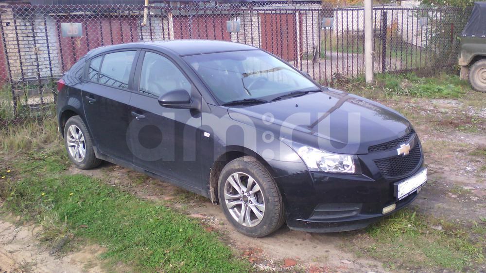 Подержанный Chevrolet Cruze, хорошее состояние, черный перламутр, 2012 года выпуска, цена 550 000 руб. в Смоленской области
