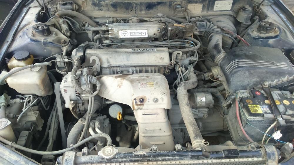 Подержанный Toyota Camry, хорошее состояние, синий , 1994 года выпуска, цена 200 000 руб. в республике Татарстане
