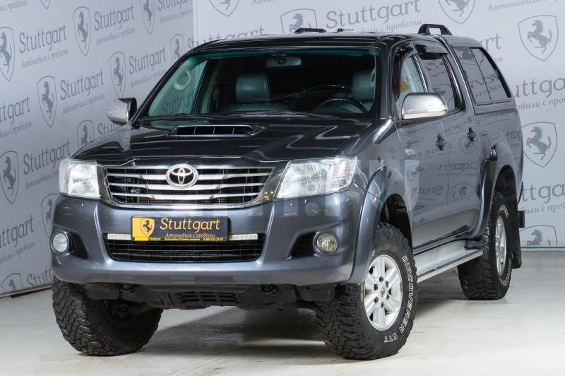 Toyota Hilux с пробегом, серый , отличное состояние, 2012 года выпуска, цена 1 240 000 руб. в автосалоне  ()
