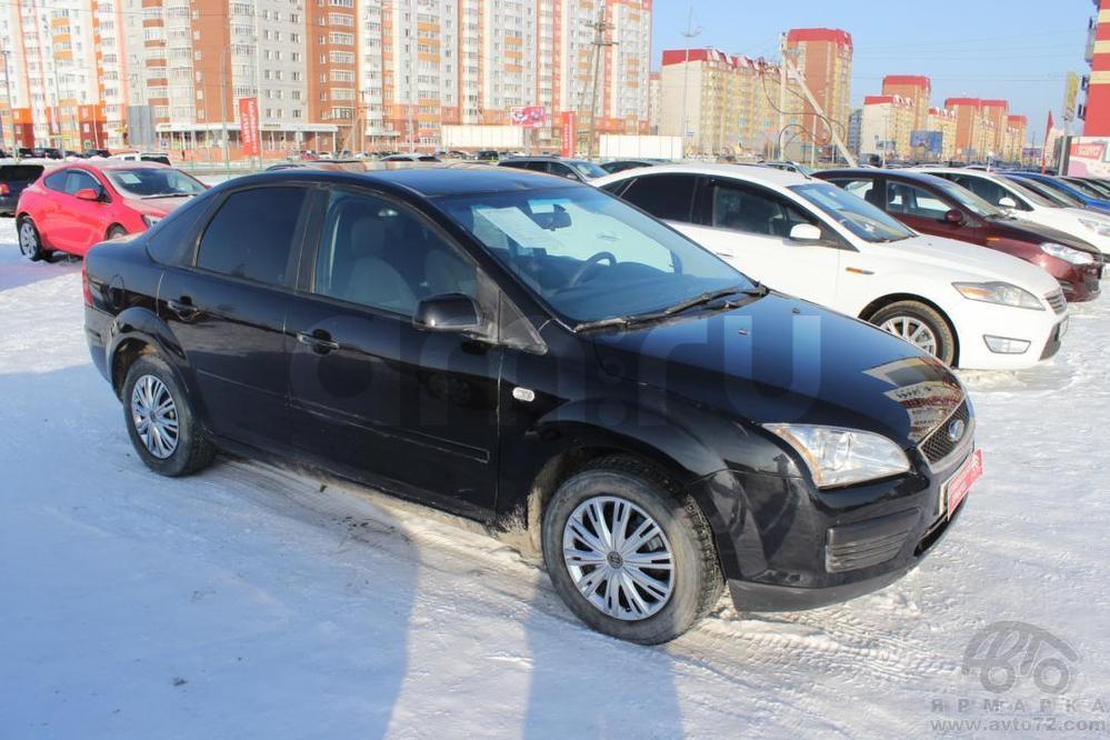 Ford Focus с пробегом, черный , хорошее состояние, 2006 года выпуска, цена 247 000 руб. в автосалоне  ()