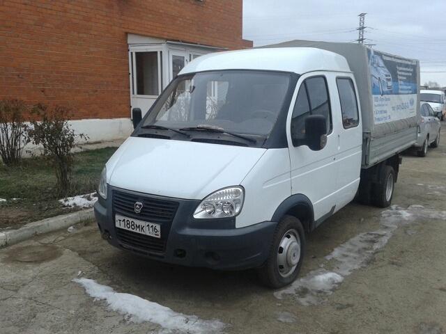 Подержанный ГАЗ Газель, отличное состояние, белый , 2012 года выпуска, цена 450 000 руб. в республике Татарстане