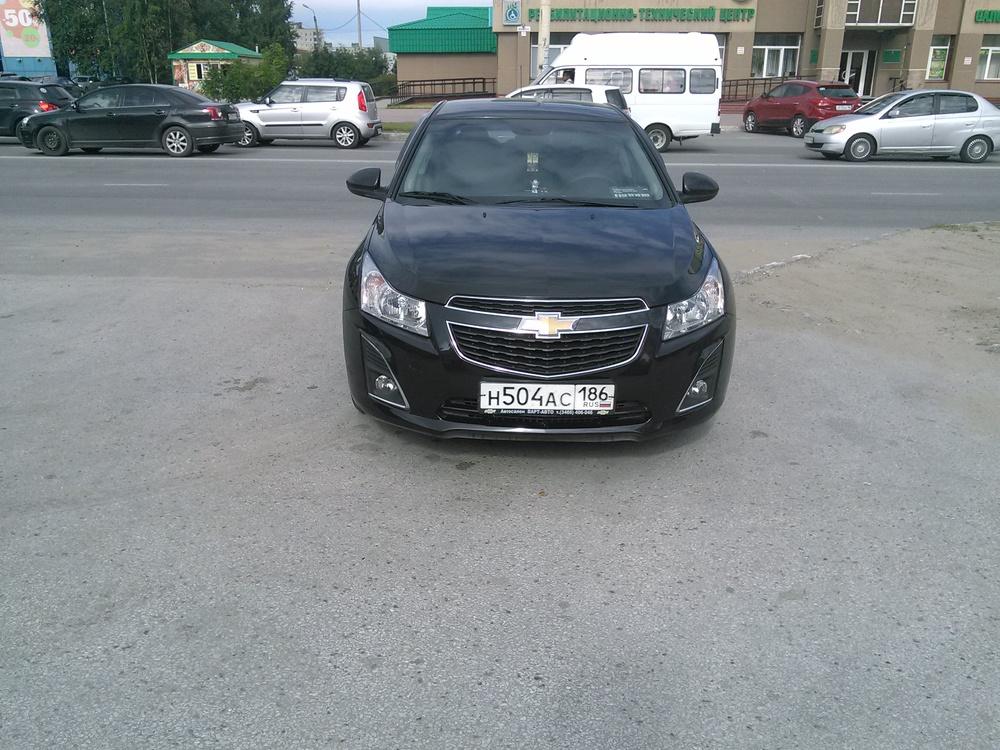 Подержанный Chevrolet Cruze, отличное состояние, черный металлик, 2013 года выпуска, цена 575 000 руб. в ао. Ханты-Мансийском Автономном округе - Югре