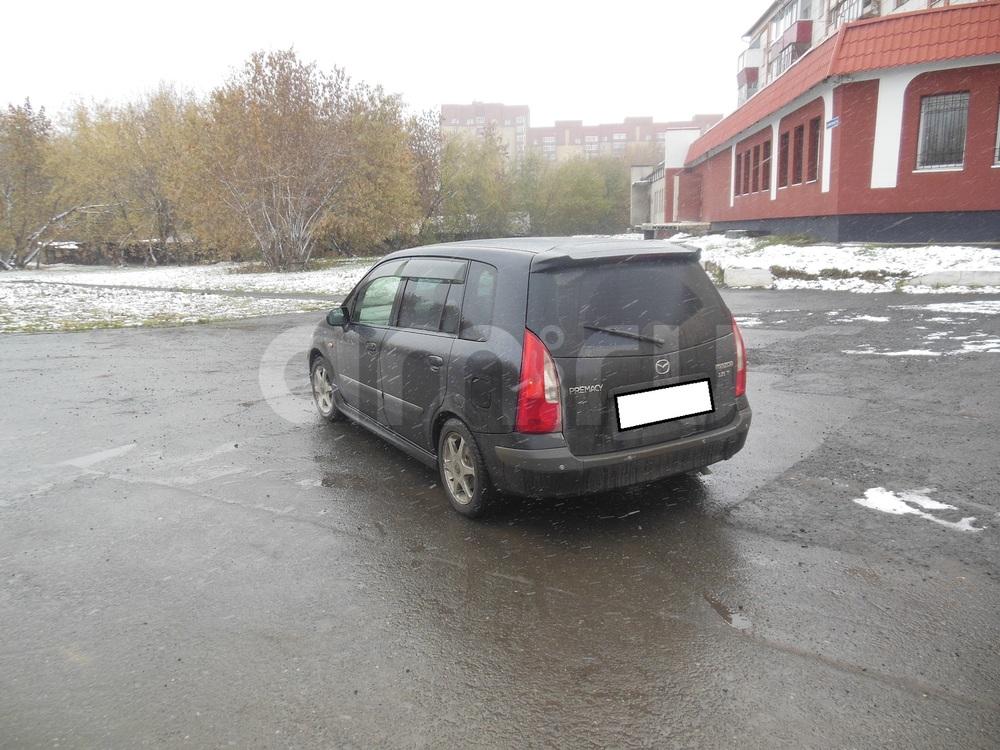 Mazda Premacy с пробегом, черный металлик, отличное состояние, 2000 года выпуска, цена 220 000 руб. в автосалоне  ()