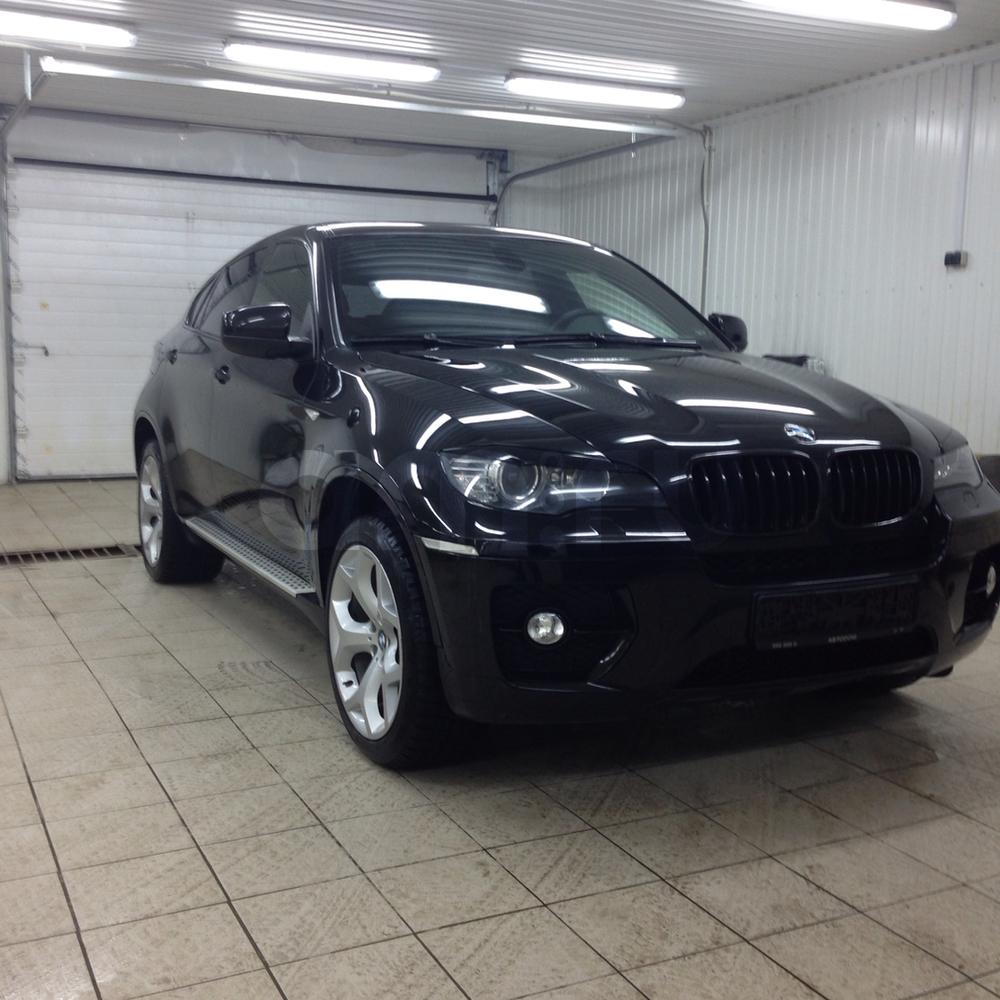 Подержанный BMW X6, отличное состояние, черный , 2008 года выпуска, цена 1 550 000 руб. в ао. Ханты-Мансийском Автономном округе - Югре
