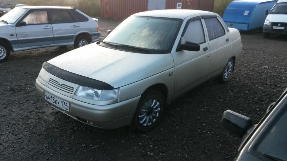 Подержанный ВАЗ (Lada) 2110, хорошее состояние, сафари металлик, 2005 года выпуска, цена 110 000 руб. в Челябинской области