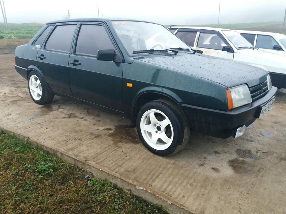 Подержанный ВАЗ (Lada) 2109, отличное состояние, зеленый , 2001 года выпуска, цена 85 000 руб. в республике Татарстане