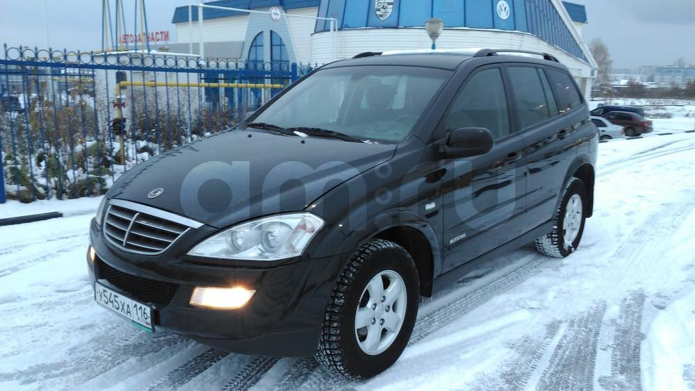 Подержанный SsangYong Kyron, отличное состояние, черный металлик, 2011 года выпуска, цена 608 000 руб. в республике Татарстане