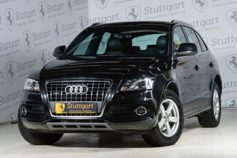Audi Q5 с пробегом, черный , отличное состояние, 2011 года выпуска, цена 1 050 000 руб. в автосалоне  ()