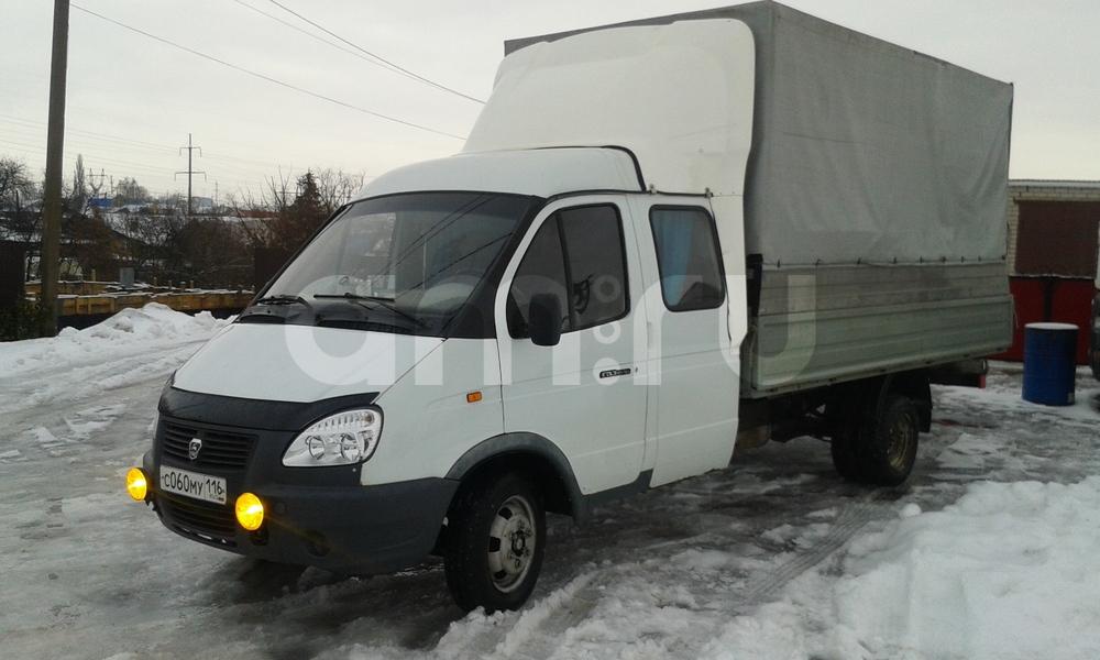Подержанный ГАЗ Газель, хорошее состояние, белый , 2004 года выпуска, цена 330 000 руб. в республике Татарстане