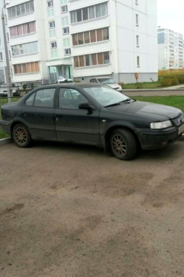 Подержанный Iran Khodro Samand, среднее состояние, черный , 2008 года выпуска, цена 90 000 руб. в республике Татарстане