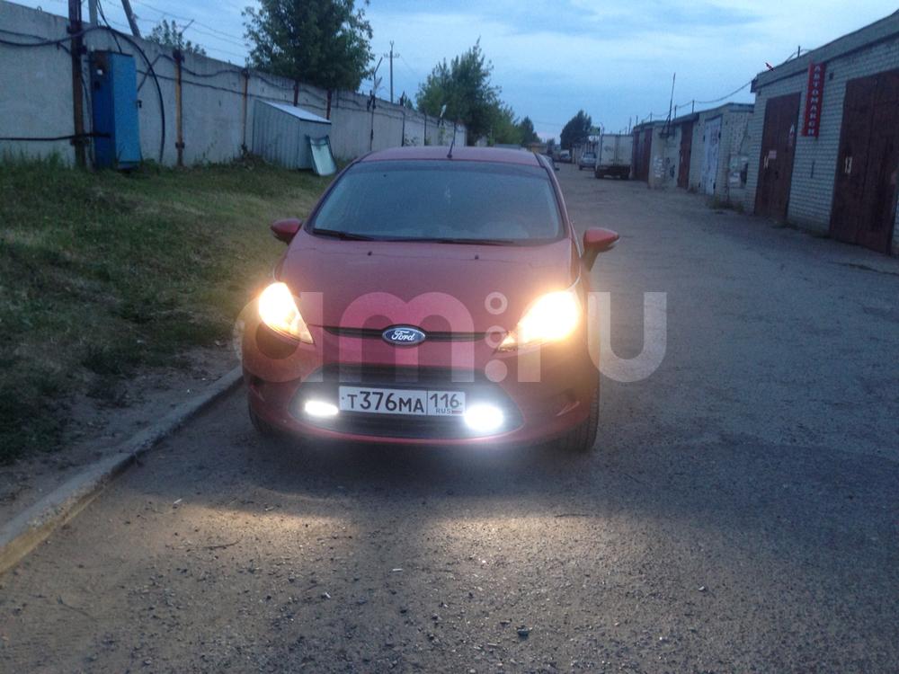 Подержанный Ford Fiesta, хорошее состояние, красный , 2008 года выпуска, цена 315 000 руб. в республике Татарстане
