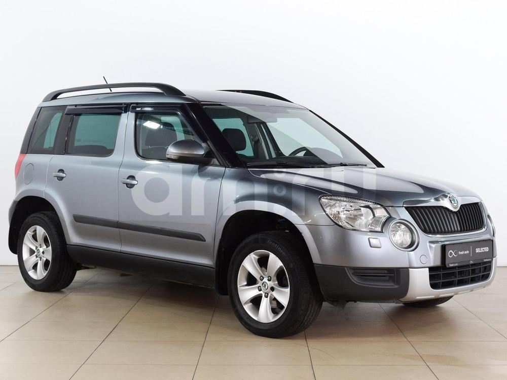 Skoda Yeti с пробегом, серый , отличное состояние, 2013 года выпуска, цена 759 000 руб. в автосалоне  ()