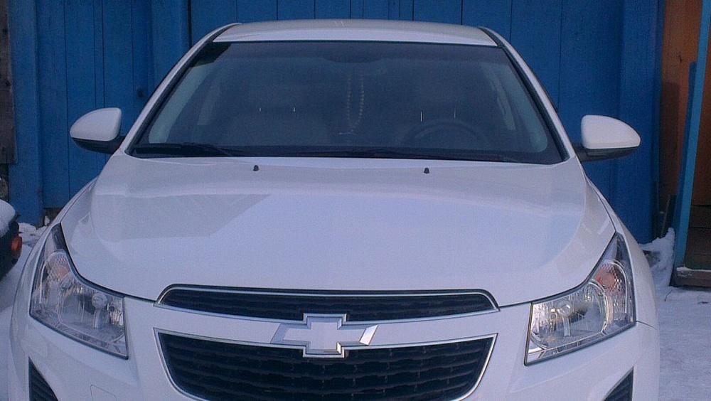 Подержанный Chevrolet Cruze, среднее состояние, белый , 2013 года выпуска, цена 650 000 руб. в ао. Ханты-Мансийском Автономном округе - Югре
