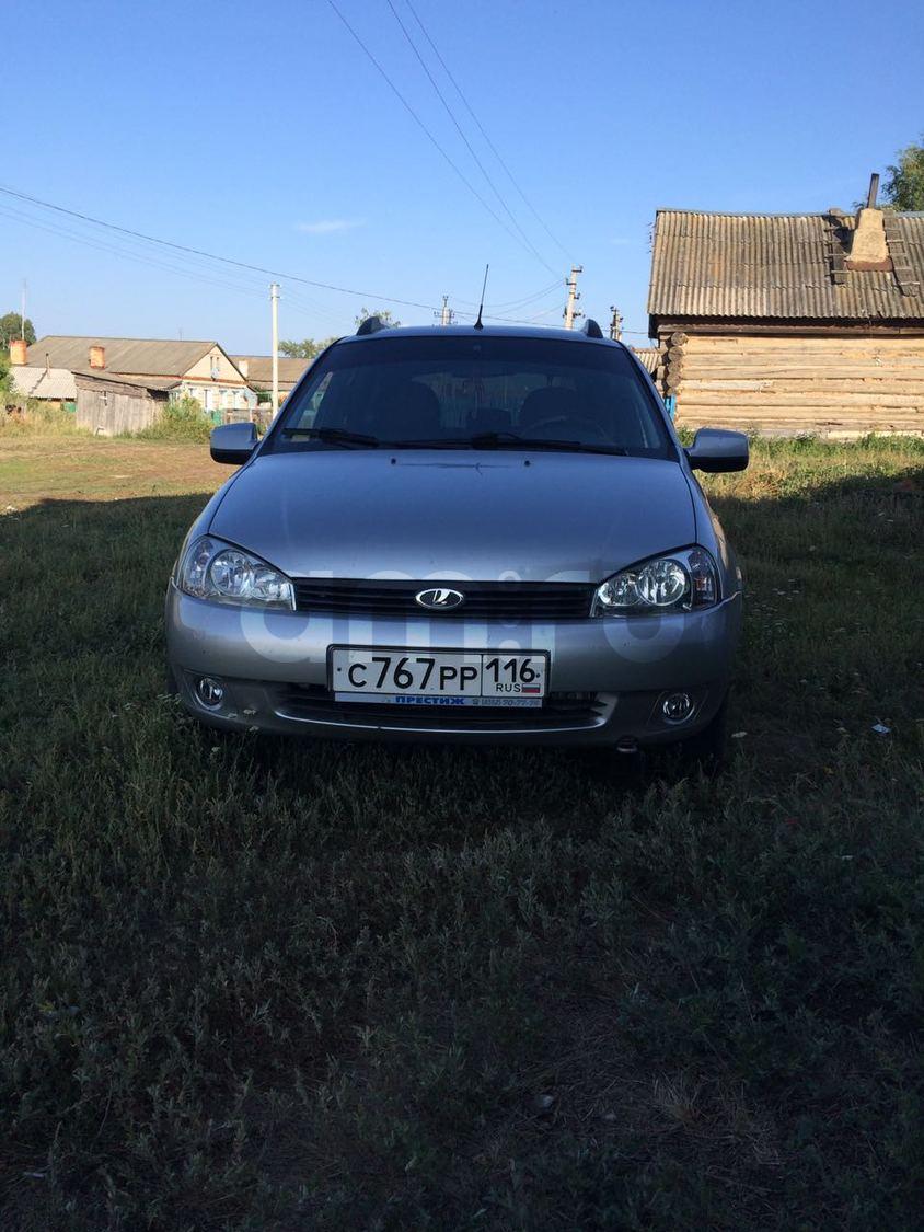 Подержанный ВАЗ (Lada) Kalina, отличное состояние, серебряный , 2013 года выпуска, цена 235 000 руб. в республике Татарстане