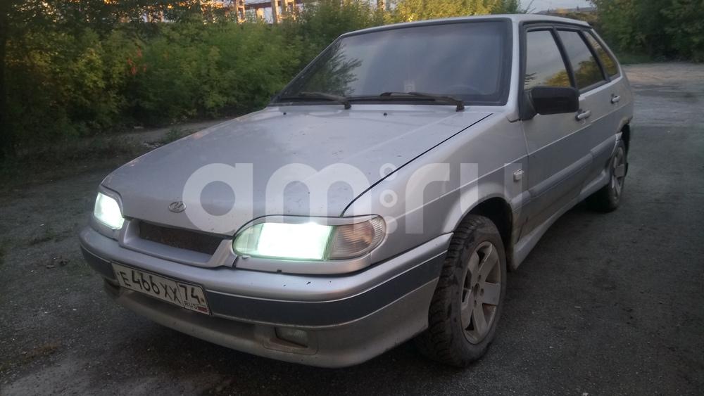 Подержанный ВАЗ (Lada) 2114, среднее состояние, серебряный , 2003 года выпуска, цена 55 000 руб. в Челябинской области