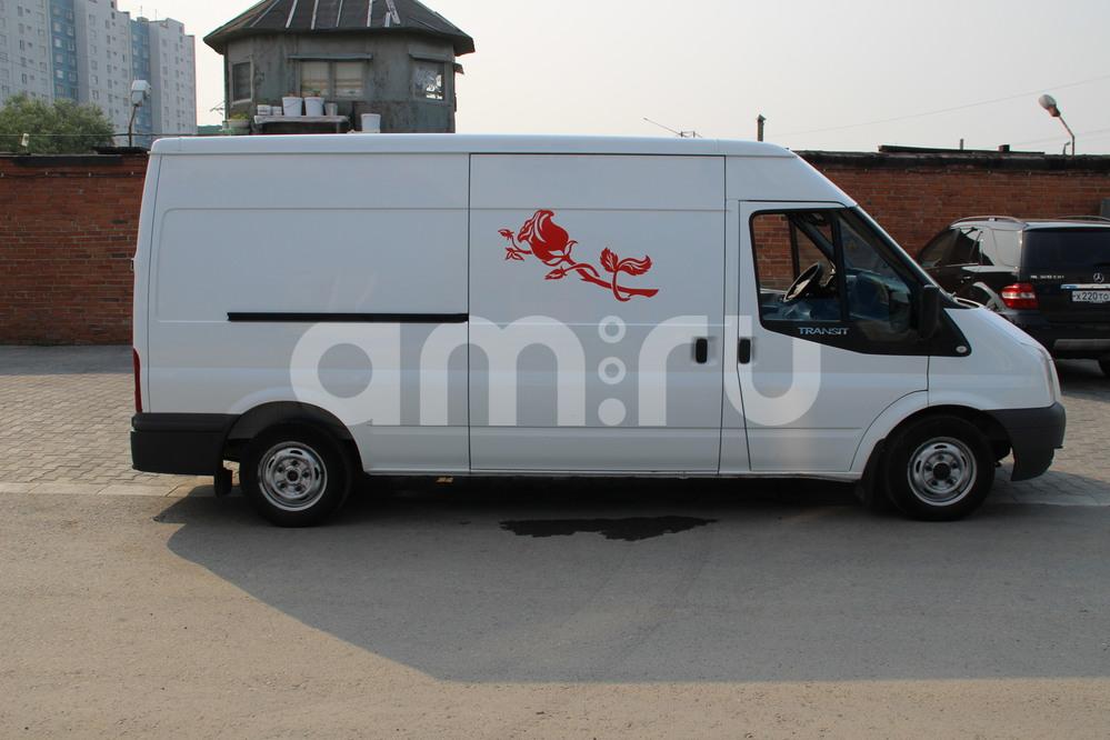 Подержанный Ford Transit, хорошее состояние, белый металлик, 2011 года выпуска, цена 800 000 руб. в ао. Ханты-Мансийском Автономном округе - Югре
