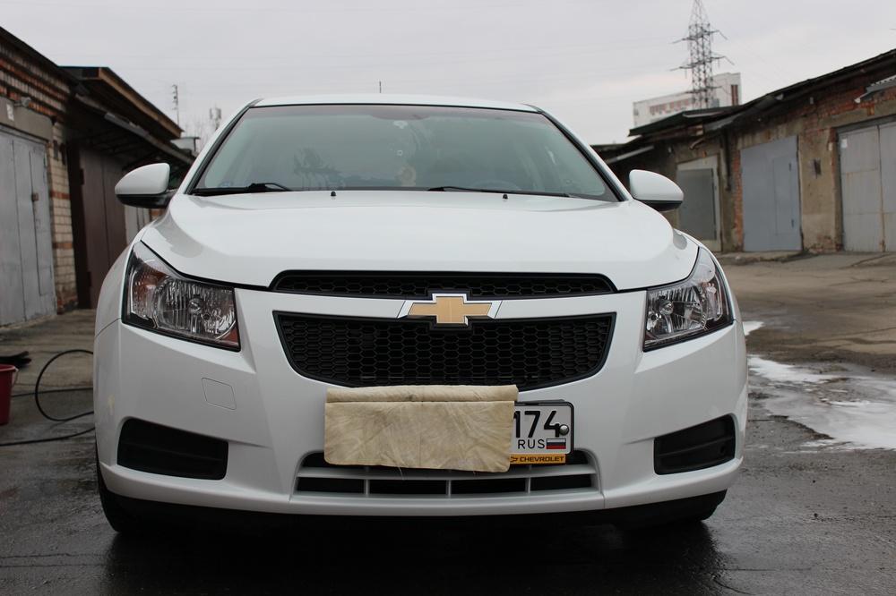 Подержанный Chevrolet Cruze, отличное состояние, белый , 2012 года выпуска, цена 480 000 руб. в Челябинской области