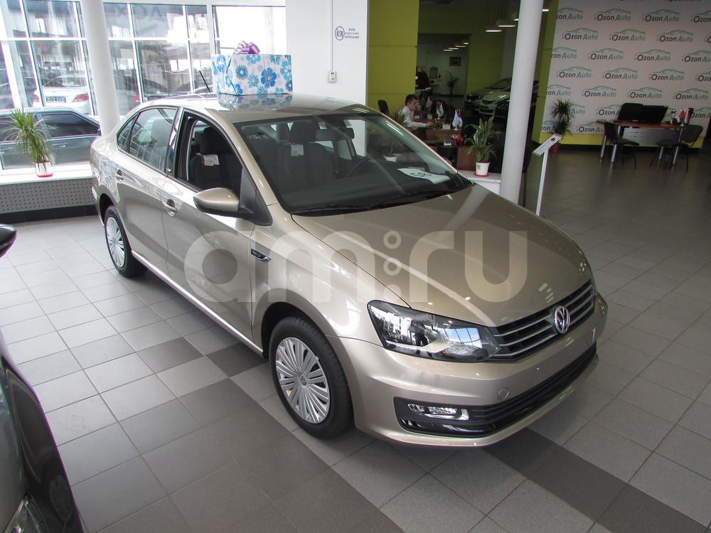 Volkswagen Polo с пробегом, бежевый металлик, отличное состояние, 2016 года выпуска, цена 609 000 руб. в автосалоне ОЗОН АВТО (Ростов-на-Дону, ул. Вавилова, д. 67В)