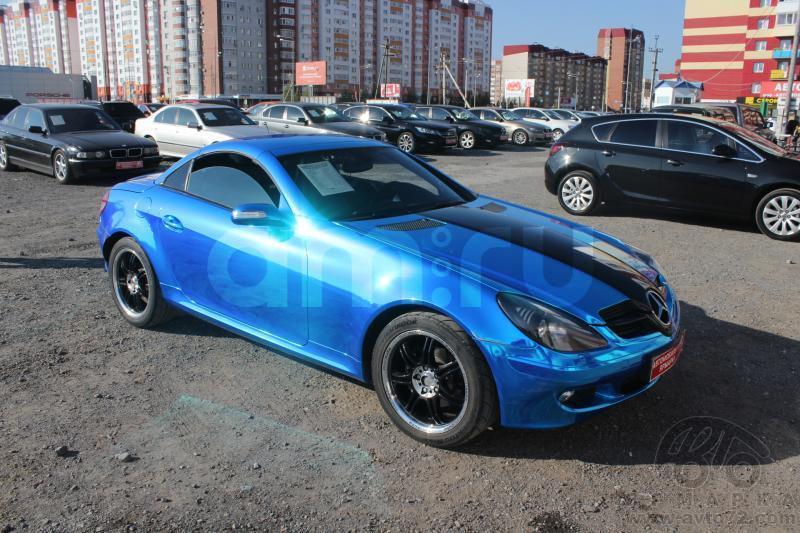 Mercedes-Benz SLK-Класс с пробегом, синий , хорошее состояние, 2006 года выпуска, цена 773 000 руб. в автосалоне  ()