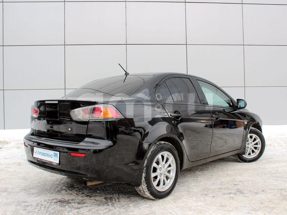 Mitsubishi Lancer с пробегом, черный , отличное состояние, 2011 года выпуска, цена 509 000 руб. в автосалоне РОЛЬФ Химки Trade-in (Москва, ш. Ленинградское, влад. 21)