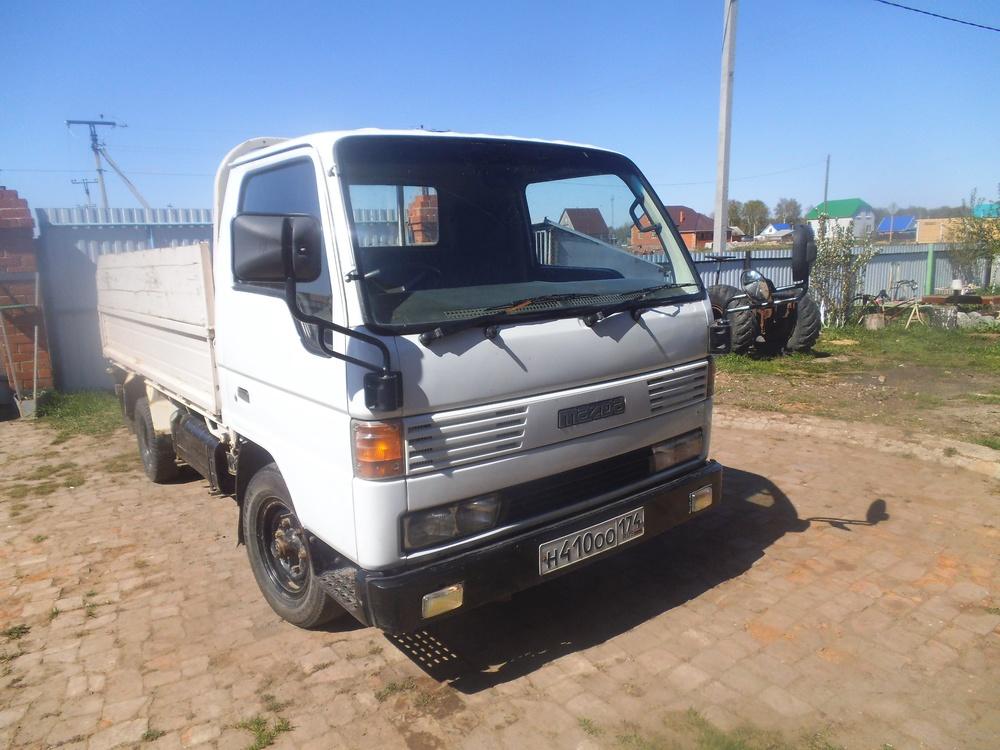 Подержанный Mazda Titan, среднее состояние, белый , 1995 года выпуска, цена 150 000 руб. в ао. Ханты-Мансийском Автономном округе - Югре