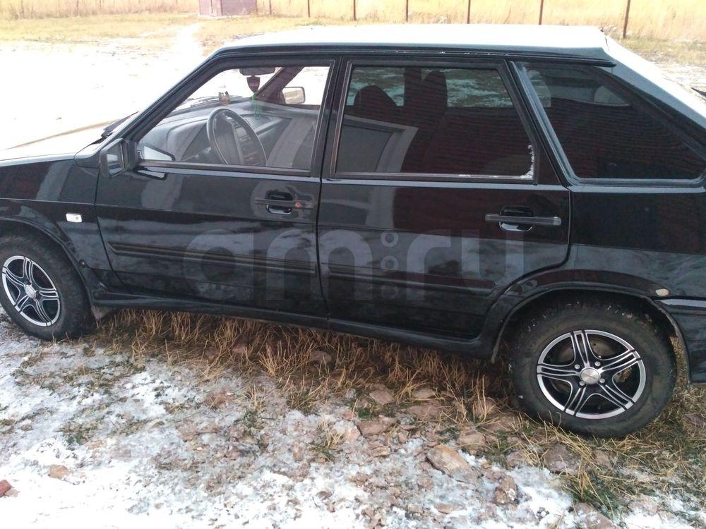 Подержанный ВАЗ (Lada) 2114, хорошее состояние, черный , 2011 года выпуска, цена 155 000 руб. в Челябинской области