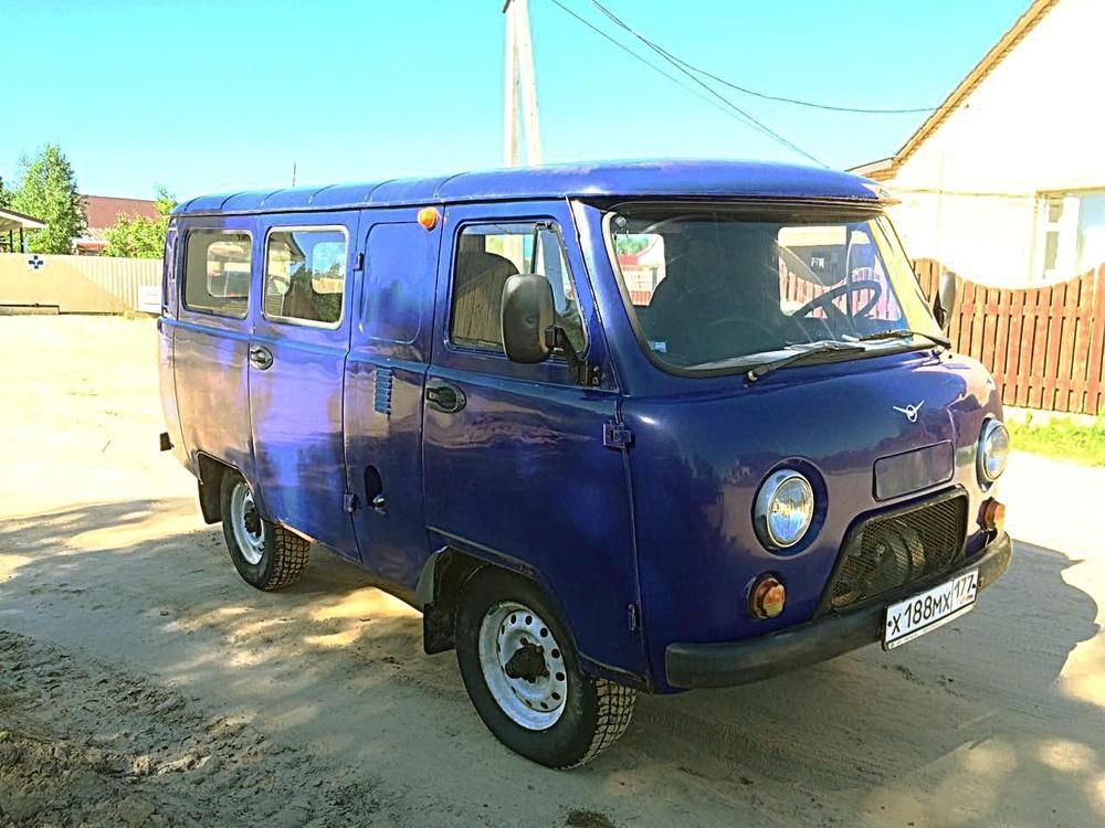 Подержанный УАЗ 39625, хорошее состояние, синий матовый, 2006 года выпуска, цена 240 000 руб. в ао. Ханты-Мансийском Автономном округе - Югре