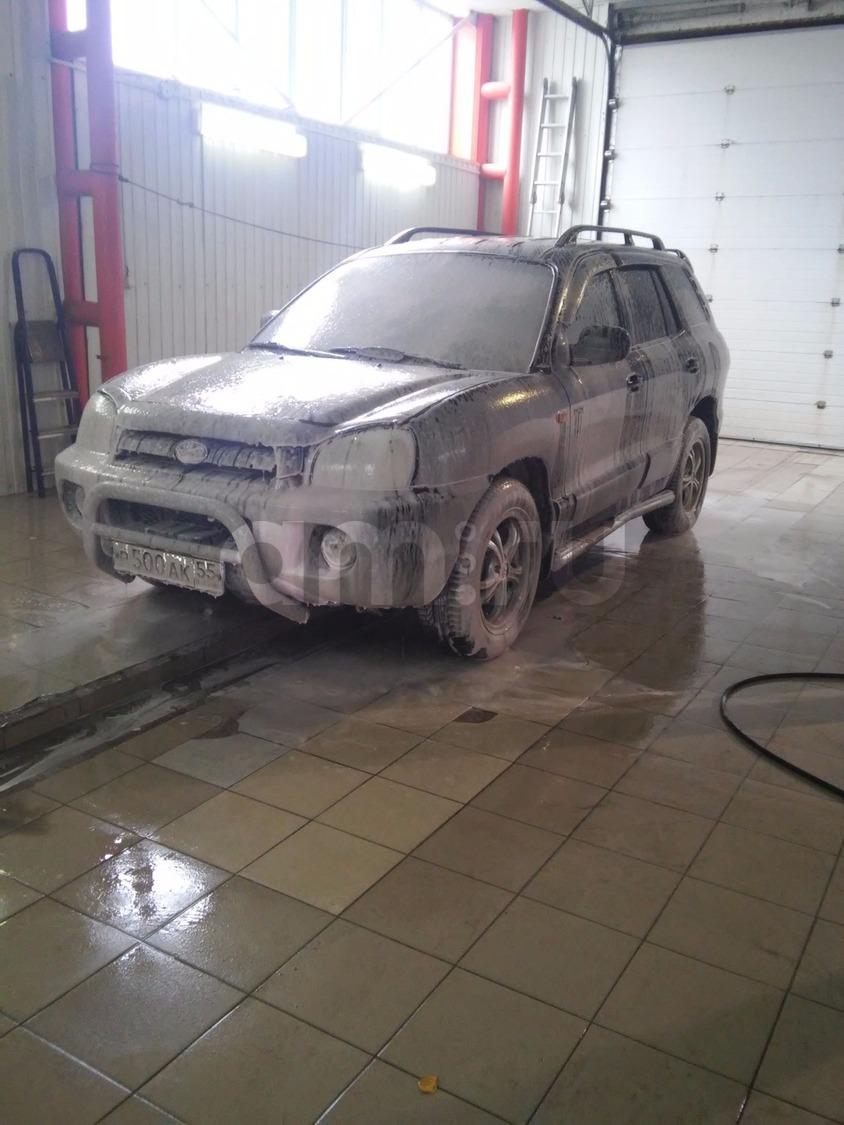 Подержанный Hyundai Santa Fe, отличное состояние, черный , 2005 года выпуска, цена 410 000 руб. в ао. Ханты-Мансийском Автономном округе - Югре