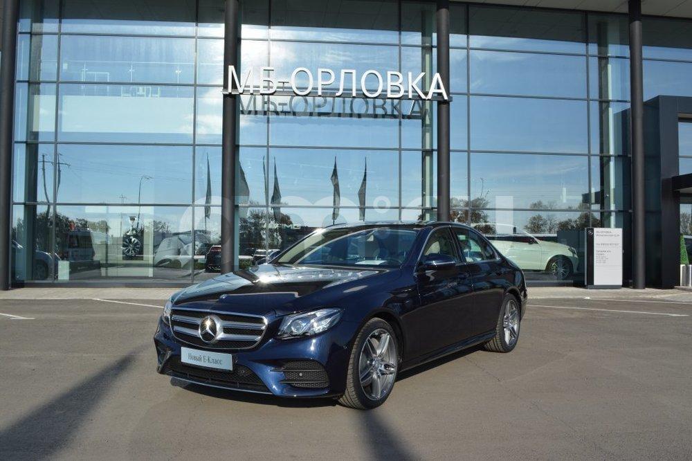 Новый авто Mercedes-Benz E-Класс, синий металлик, 2016 года выпуска, цена 3 520 000 руб. в автосалоне  ()