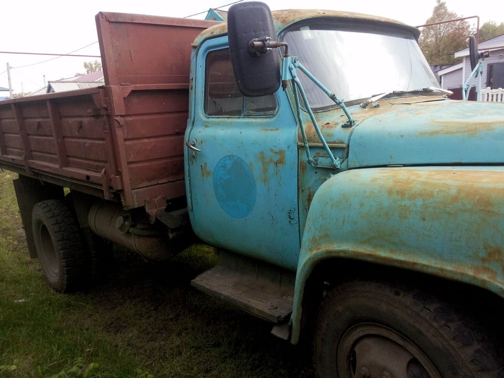 Подержанный ГАЗ 52, хорошее состояние, голубой , 1996 года выпуска, цена 85 000 руб. в республике Татарстане