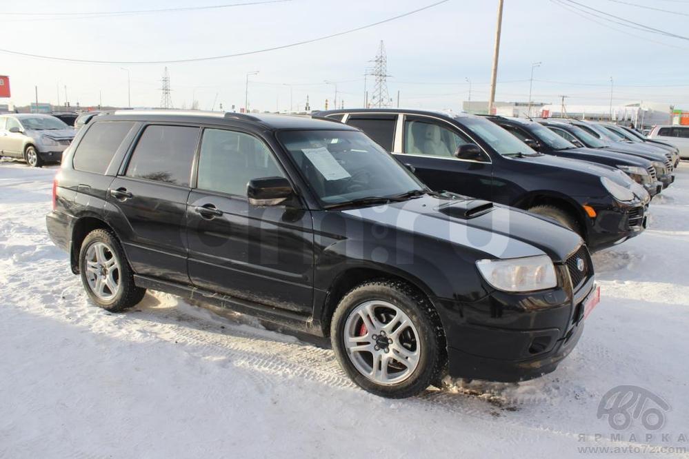 Subaru Forester с пробегом, черный , хорошее состояние, 2007 года выпуска, цена 770 000 руб. в автосалоне  ()