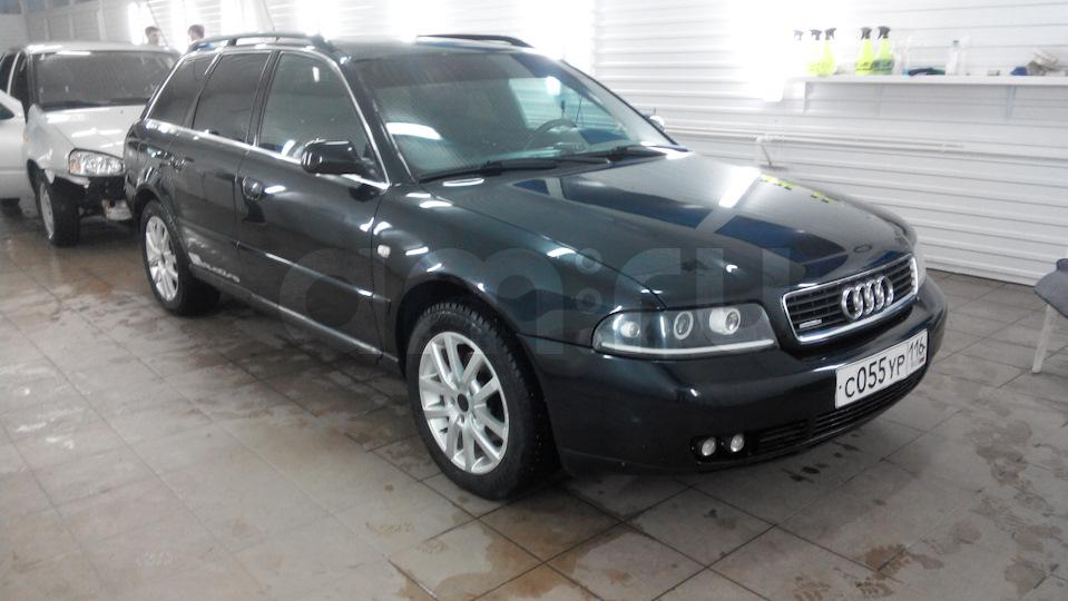 Подержанный Audi A4, отличное состояние, черный , 2000 года выпуска, цена 290 000 руб. в республике Татарстане