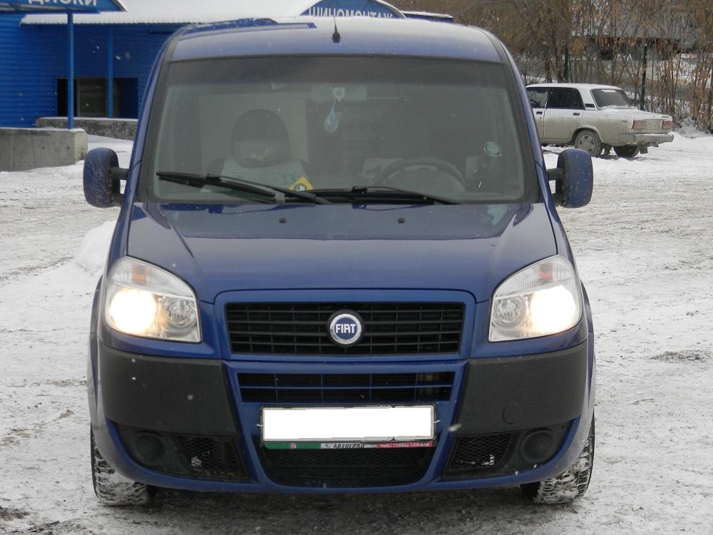 Fiat Doblo с пробегом, синий , хорошее состояние, 2008 года выпуска, цена 410 000 руб. в автосалоне  ()