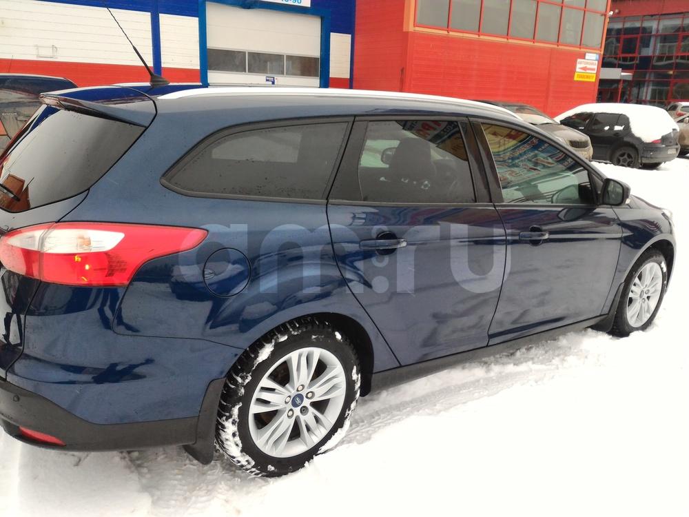 Подержанный Ford Focus, хорошее состояние, синий , 2012 года выпуска, цена 620 000 руб. в ао. Ханты-Мансийском Автономном округе - Югре