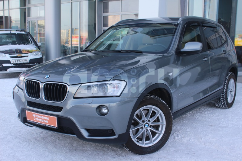 BMW X3 с пробегом, серый , отличное состояние, 2013 года выпуска, цена 1 455 000 руб. в автосалоне Автобан-Запад (Екатеринбург, ул. Металлургов, д. 67)