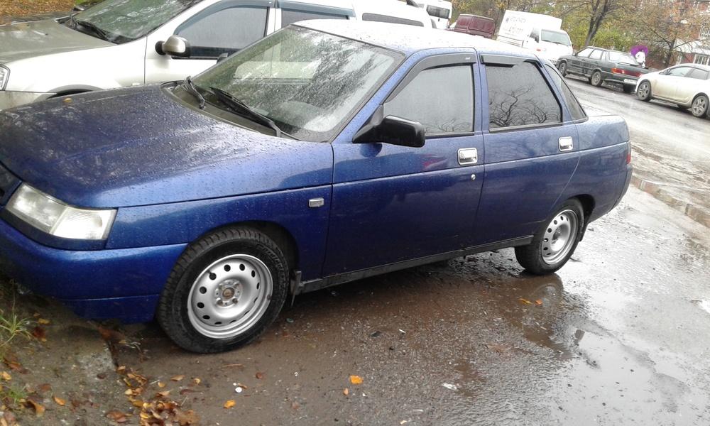 Подержанный ВАЗ (Lada) 2110, среднее состояние, синий , 2005 года выпуска, цена 100 000 руб. в республике Татарстане